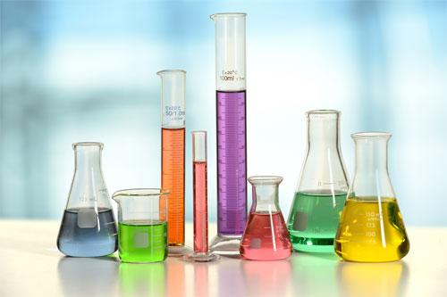 Muestra de material de laboratorio