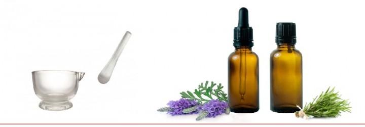 Material para aromaterapia