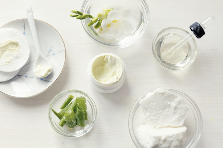 material para elaborar cremas caseras